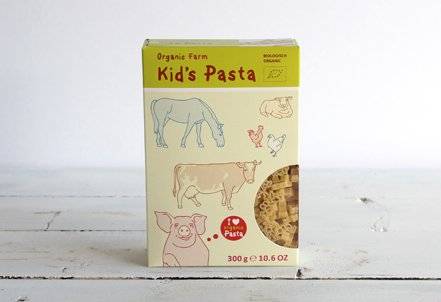 Pasta, Kids' Farm Shapes
