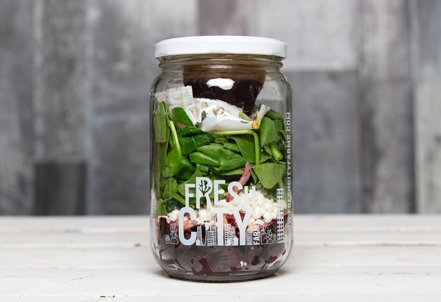 Organic Roasted Beet Salad, jar