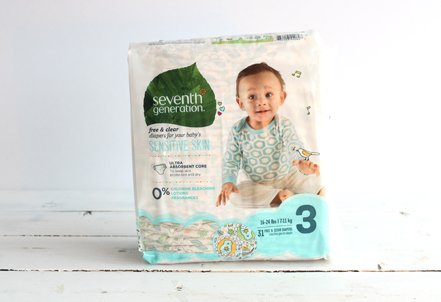 Diapers, Size 3, 16-24lbs