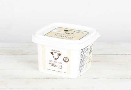 Yogurt, Best Baa Sheep Maple square container