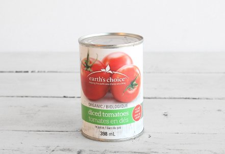 Diced Tomatoes, no salt (Small)