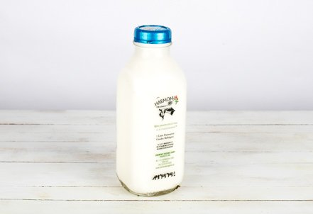 Milk, 2% Partly Skimmed Glass Bottle
