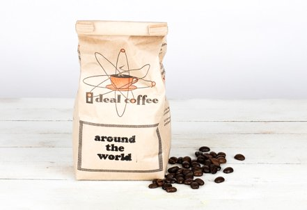 Whole Bean, Around The World Medium Coffee