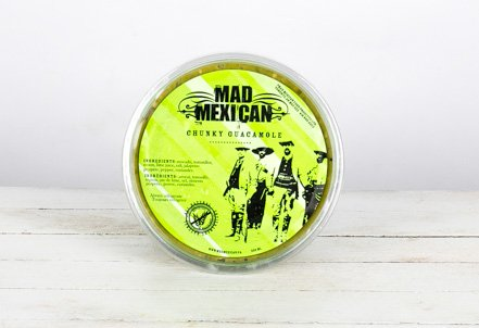 Guacamole, Chunky Mild   Mad Mexican