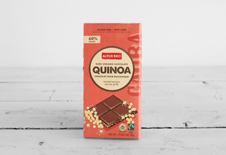 Chocolate Bar, Quinoa 60%