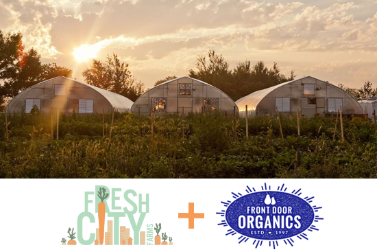 Fresh City & Front Door Organics Are Teaming Up!