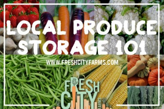 Local Produce Storage Guide