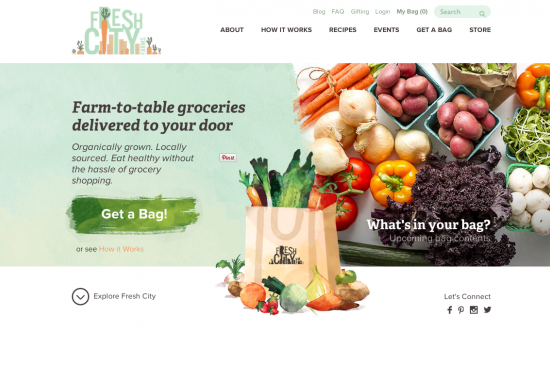 Release: Fresh City launches online grocery store delivering to GTA