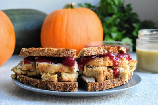Classic Thanksgiving Leftover Sandwich