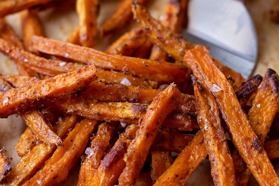 Crispy Baked Sweet Potato Fries Recipes