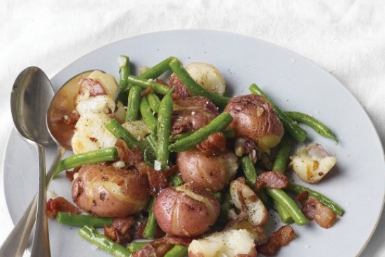 Warm Green Bean and Potato Salad