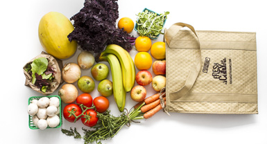 Browse our selection of organic locally grown produce bags