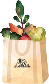 Pick your bag of delicious organic goods