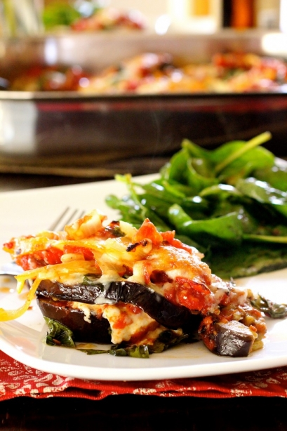 Eggplant Parmigiana - The Curvy Carrot